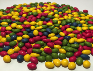 Mini Rainbow Choc Drops