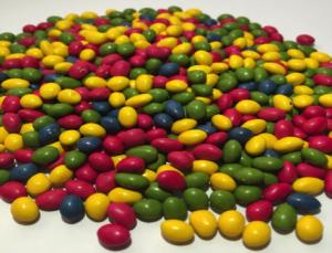 Mini Rainbow Choc Drops
