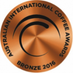 Jacksy's Coffee Australian International Coffee Award